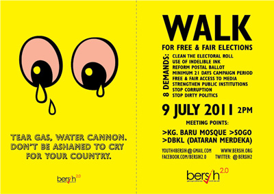 BERSIH - Tear Gas by Sharon Chin