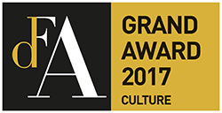 Design for Asia (DFA) Winner of Grand Award for Culture 2017
