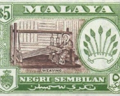 1962 | $5 Negri Sembilan